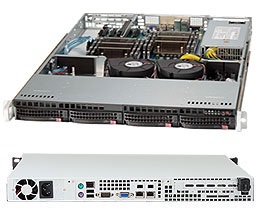 Supermicro Server SYS-6017R-TDF 1U DP