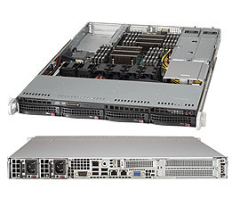 Supermicro Server SYS-6017R-WRF 1U DP