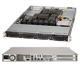 Supermicro Server SYS-6017R-N3F 1U DP