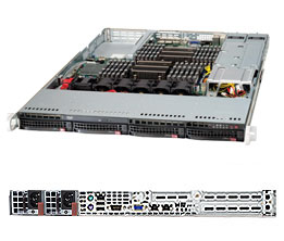 Supermicro Server SYS-6017R-N3RF4+ 1U DP