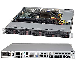 Supermicro Server SYS-1017R-MTF 1U SP