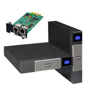 EATON UPS 1/1fáza, 2200VA - 5PX 2200i RT2U Netpack, 9xIEC, USB, Line-Interactive, Rack/Tower