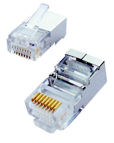 OEM tienený konektor Cat.5E, FTP RJ45-8p8c,50µ