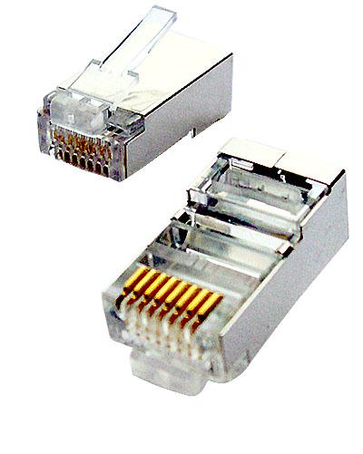 OEM Tienený konektor STP RJ45-8p8c,50µ