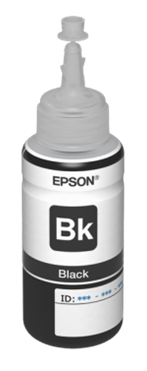 Epson atrament L800/L1800 Black ink container 70ml