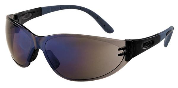 MSA PERSPECTA 9000 okuliare, modré zrkadlové sklá, Sightgard povrchová vrstva