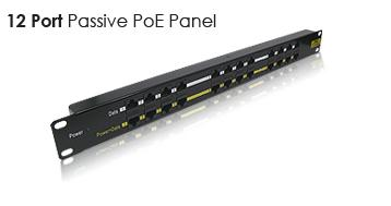 CNS patch panel 12port POE