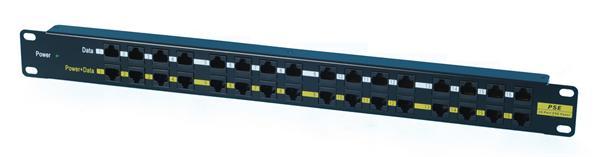 CNS patch panel 16port POE