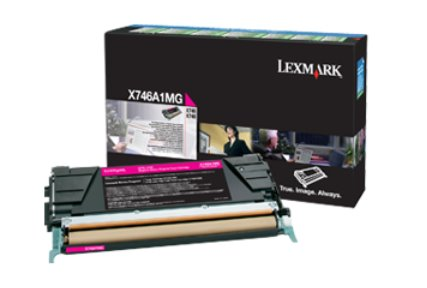 Lexmark X746, X748 Magenta Return Program Toner Cartridge 7K