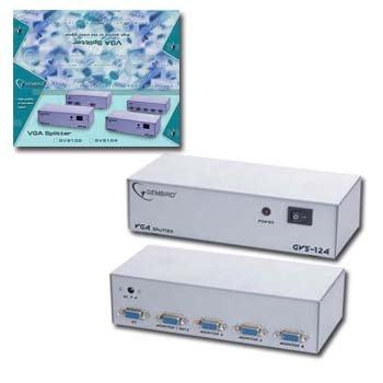 Dátový prepínač VGA. ( rozbočovač 4-cestný)