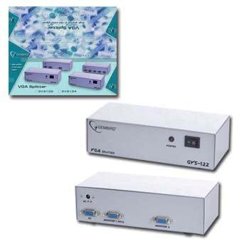 Dátový prepínač VGA. ( rozbočovač 2-cestný)