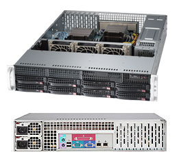 Supermicro Server SYS-6027R-3RF4+ 2U DP