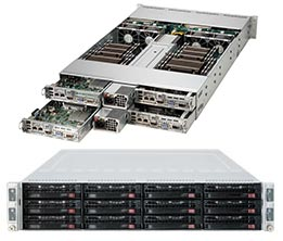 Supermicro Server SYS-6027TR-HTRF 2U DP