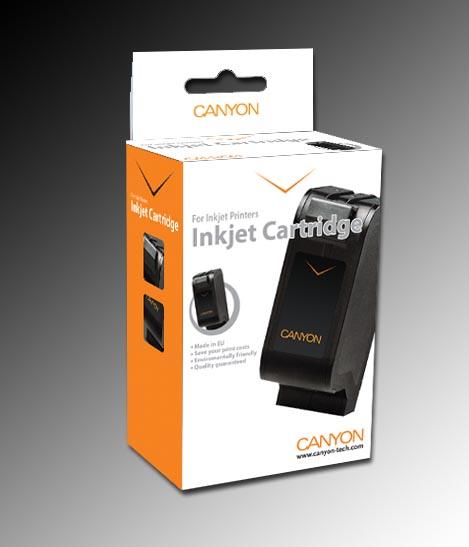 CANYON - Alternatívny injekt pre Canon CLI521 black