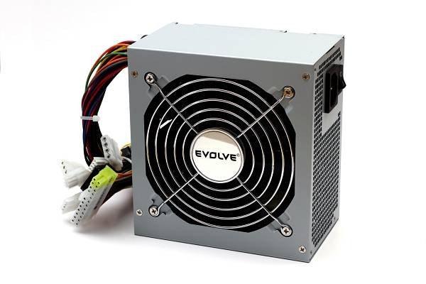 EVOLVEO Zdroj 350W Pulse, ATX 2.2, tichý 12cm fan, pas. PFC, 2xSATA, bulk