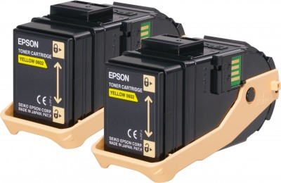 Epson toner Aculaser C9300 yellow double pack 2x 7500str.
