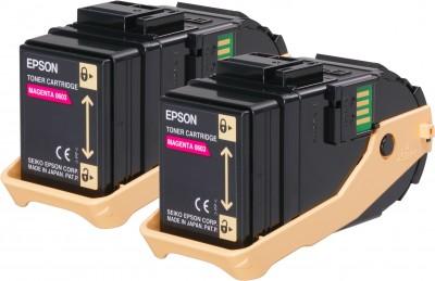 Epson toner Aculaser C9300 magenta double pack 2x 7500str.