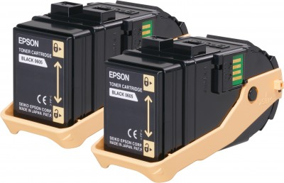 Epson toner Aculaser C9300 black double pack 2x 6500str.