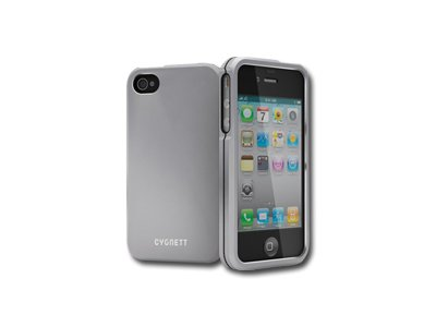 Cygnett, kovový obal METALICUS pre iPhone 4/4S, strieborný