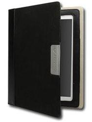 Cygnett Alumni obal pre iPad 3/4, trvácne plátno, čierny