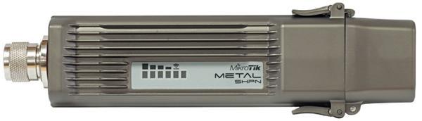 MIKROTIK Metal 5SHPn + L4 (400MHz 64MB RAM, 1x LAN, 1x 5GHz 802.11a/n, N-male) outdoor