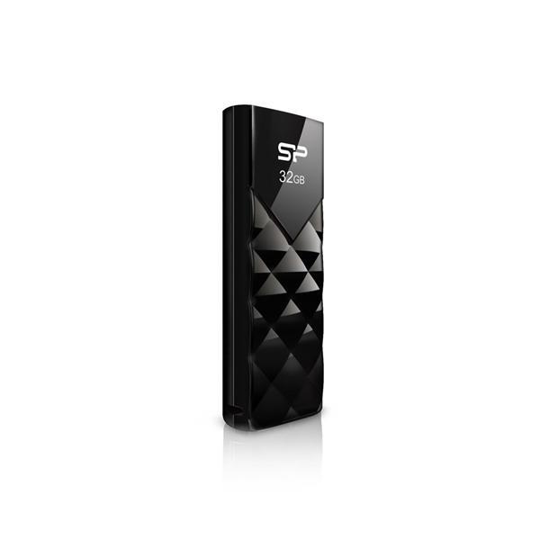 8 GB . USB kľúč ..... Silicon Power Ultima U03, čierny