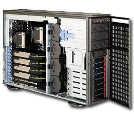 Supermicro Server SYS-7047GR-TRF-FC475 4x NVIDIA C2075 TESLA FERMI GPU cards