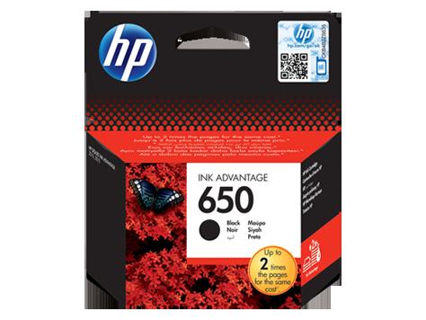 HP náplň c. 650 čierna 360str