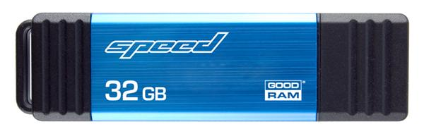 64 GB . kľúč . GOODDRIVE SPEED USB 3.0 čierno-modrý