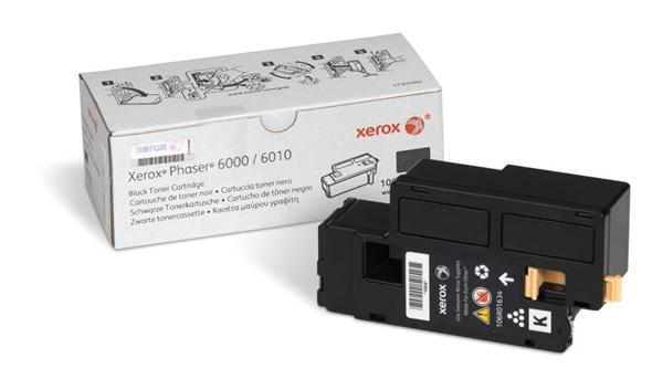 Xerox BLACK TONER CARTRIDGE, P 6000/6010/6015, DMO