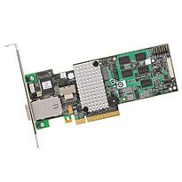 LSI SAS 9285CV, 8ext PCI-E 6Gb/s, SATA/SAS 1GB RAID0,1,10,5,6 8-ch, bulk