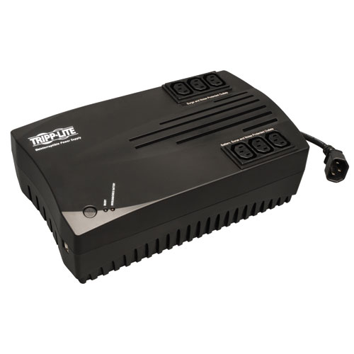 TrippLite AVR Series 750VA Ultra-compact Line-Interactive 230V UPS with USB port, C13 outlets
