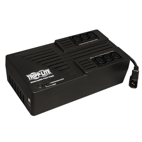 TrippLite AVR Series 550VA Ultra-compact Line-Interactive 230V UPS with USB port, C13 outlets