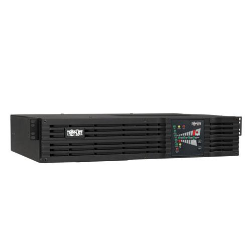 TrippLite SMARTONLINE® Series 1kVA On-Line Double-Conversion UPS, 2U Rack/Tower, 200/220/230/240V C13 outlets