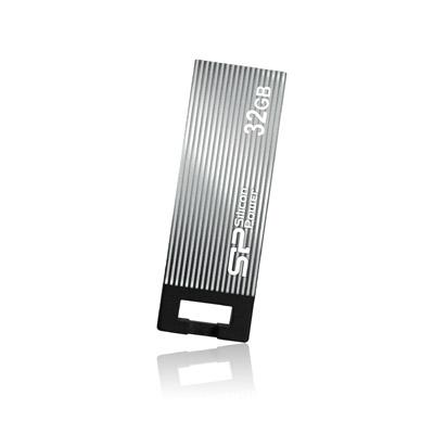 8 GB . USB kľúč ..... Silicon Power TOUCH 835, sivý (odolný voči vode, prachu a nárazom)