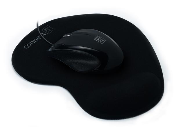 CONNECT IT myš 3023 optická+gelová podložka