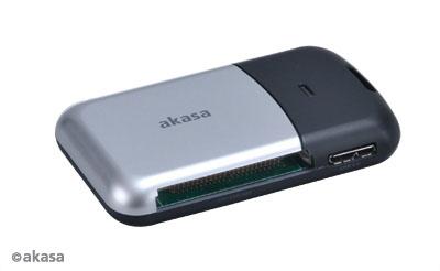 AKASA AK-CR-05U3BK, USB 3.0 čítačka kariet ( 6v1)