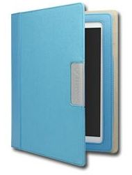 Cygnett Alumni obal pre iPad 3/4, trvácne plátno, kobaltová modrá