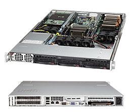 Supermicro Server SYS-5017GR-TF-FM109 1U 1x NVIDIA Tesla M2090 Fermi GPU card