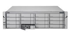 Promise Vess R2600fiD, 3U 8Gb FC x2 + 1Gb iSCSI x4 Dual cotroller,redundant PSU