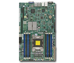 Supermicro Motherboard Xeon X9SRW-F Single socket R (LGA 2011) Intel® i350 Dual Port Gigabit Ethernet