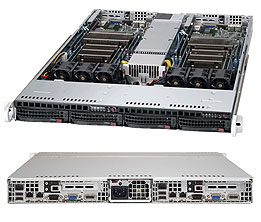 Supermicro Server Twin SYS-6017TR-TF 1U DP