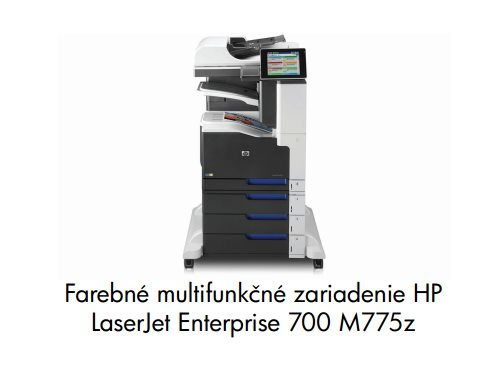 HP LJ Enterprise 700 color MFP M775Z A3