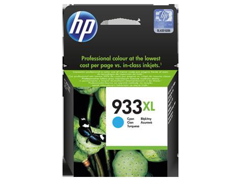 HP Azúrová atramentová kazeta HP 933XL Officejet