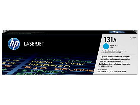HP Azúrová tonerová kazeta HP 131A LaserJet /1800str/