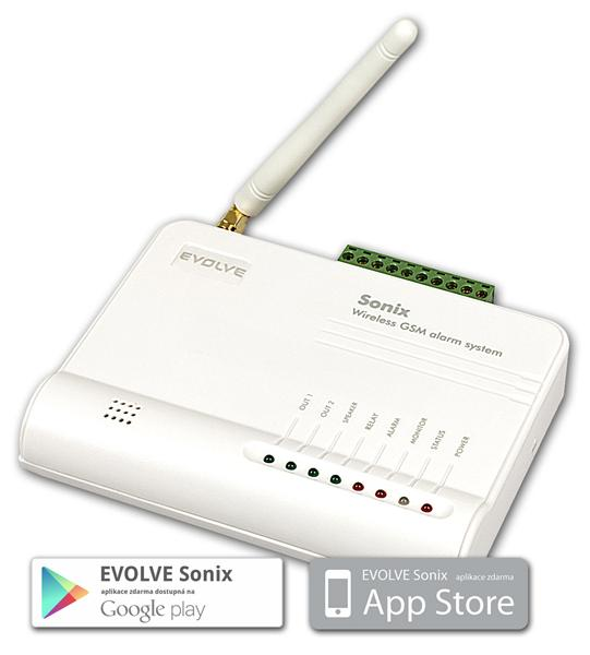 EVOLVEO bezdrôtový GSM alarm EVOLVEO Sonix