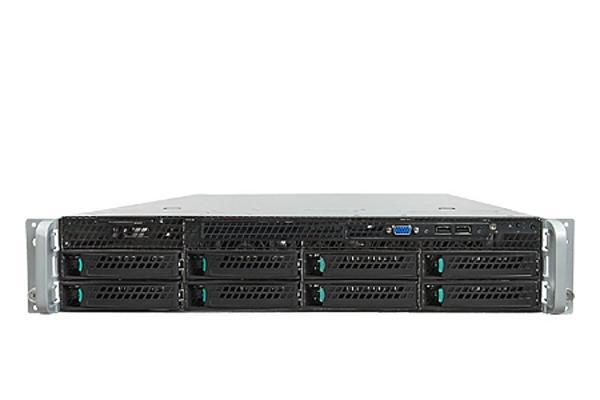 Intel® 2U Server System R2308IP4LHPC Rack 2U, 2xE5-2600, 16xDDR3 RDIMM 1600MHz, 8x3.5' HDD HotSwap, RAID (1,0,10), RKS