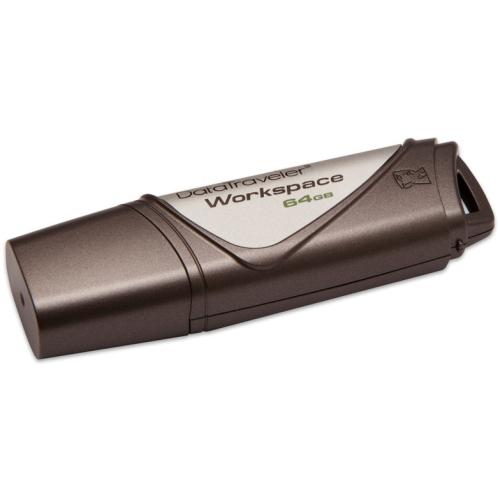 64 GB . USB 3.0 klúč . Kingston DataTraveler Workspace ( r250MB/s, w250MB/s )