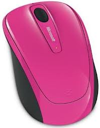 Myš L2 Wireless Mobile Mouse 3500 Mac/Win - Pink ruzova