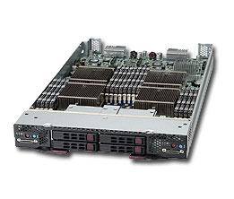 Supermicro TwinBlade-10Module SBI-7227R-T2 4x Xeon E5-26xx, 4 x 2.5